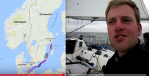 Video Still SY Universitas beim MidsummerSail 2017