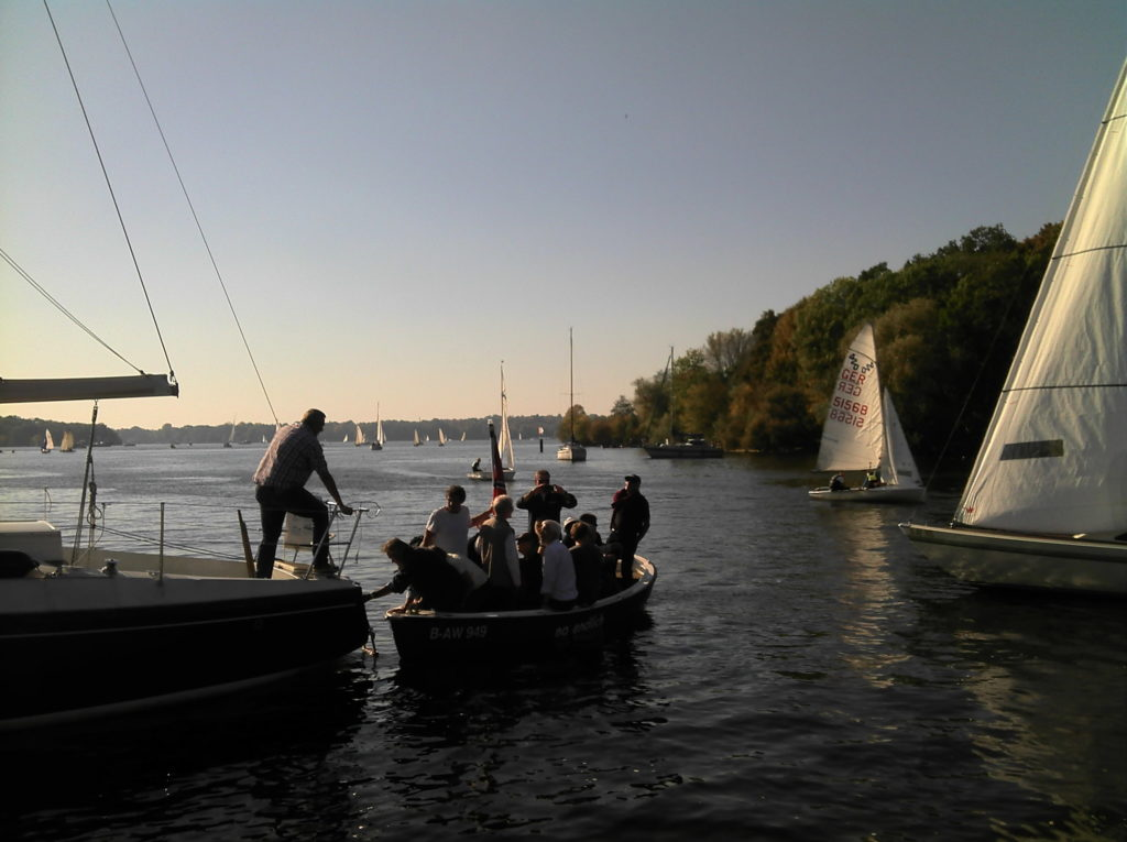 Shuttleboot Absegeln Stoessensee 2018