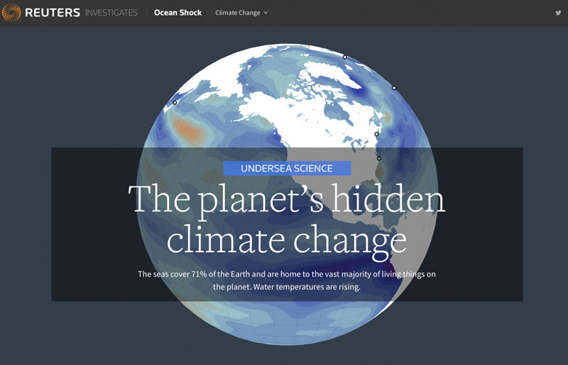 UNDERSEA SCIENCE The planet's hidden climate change