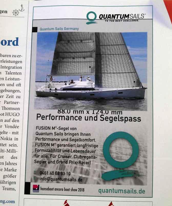 Quantumsails 88 mm x 124 mm