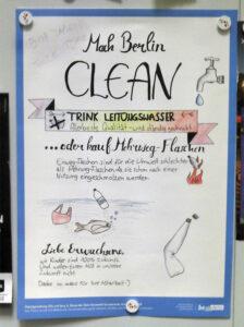 mach Berlin clean Plakat