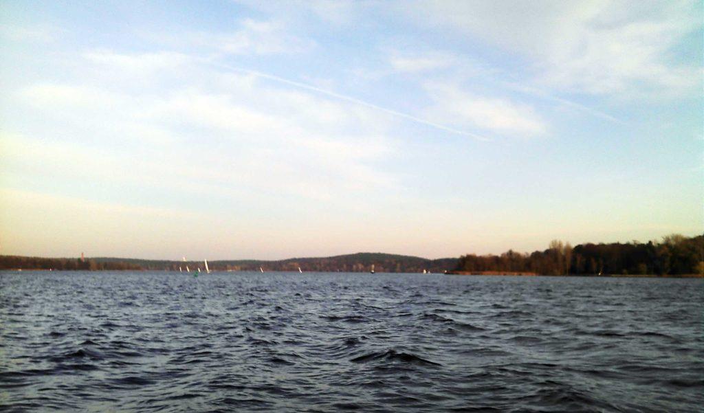 Nilolaussegeln auf der Havel viel los