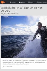 ZDF: Die Doku Segeln | Vendée Globe - Screenshot